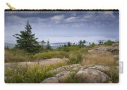 View From Top Of Cadilac Mountain In Acadia National Park Carry-all Pouch