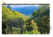 View From Trail To West Point Inn On Mount Tamalpais-california  Carry-all Pouch
