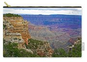 View From Walhalla Overlook On North Rim Of Grand Canyon-arizona  Carry-all Pouch