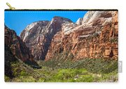 View From Weeping Rock Carry-all Pouch