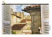 View In Cognac Carry-all Pouch