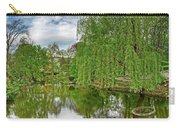 View Of A Botanical Garden, Krakow Carry-all Pouch