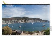 View Of A Harbor From A Castle, St Carry-all Pouch