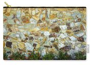 View Of A Stone Wall Carry-all Pouch