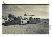View Of Abandoned Church Gate Carry-all Pouch