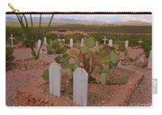 View Of Arizona From Boothill Cemetery Carry-all Pouch