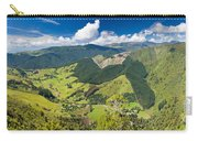 View Of Arthur Range In Kahurangi Np Of New Zealand Carry-all Pouch