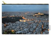 View Of Athens During Dawn Carry-all Pouch