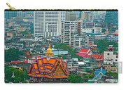 View Of Bangkok Buildings From Grand China Princess Hotel In Bangkok-thail Carry-all Pouch