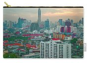 View Of Bangkok Near Dusk From Grand China Princess Hotel In Bangkok-thailand Carry-all Pouch