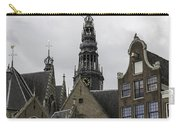 View Of Bell Tower Oude Kerk Amsterdam Carry-all Pouch
