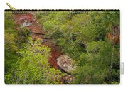View Of Cano Cristales In Colombia Carry-all Pouch