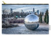 View Of Charlotte Nc Skyline From Midtown Park Carry-all Pouch