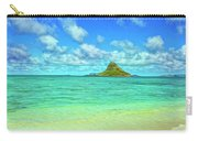 View Of Chinaman's Hat Carry-all Pouch