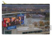 View Of Cincinnati Carry-all Pouch by Dan Sproul