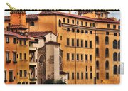 View Of Florence Along The Arno River Carry-all Pouch