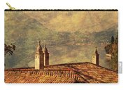 View Of Lake Como Over The Rooftop Of Villa Monastero Carry-all Pouch