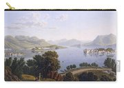 View Of Lake Maggiore And The Borromean Carry-all Pouch
