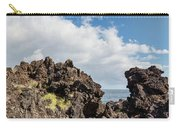 View Of Lava Rock On The Coast, Pico Carry-all Pouch