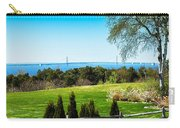 View Of Mackinac Bridge From Mackinac Island Carry-all Pouch
