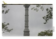 View Of Monument At Yorktown Carry-all Pouch by Teresa Mucha