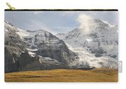 View Of Mt Eiger And Mt Monch, Kleine Carry-all Pouch