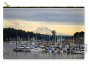 View Of Mt. Rainier From Gig Harbor Wa Carry-all Pouch