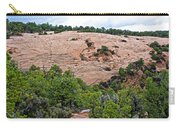 View Of Rock Dome Surface From Sandal Trail Across The Canyon In Navajo National Monument-arizona Carry-all Pouch