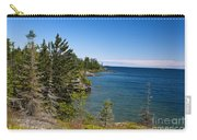 View Of Rock Harbor And Lake Superior Isle Royale National Park Carry-all Pouch by Jason O Watson