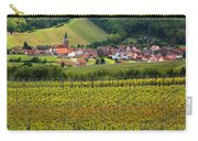 View Of Rodern From The Vineyards Of Alsace Carry-all Pouch