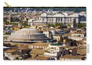 View Of Rome's Rooftops Carry-all Pouch