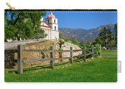 View Of Santa Barbara Mission Carry-all Pouch