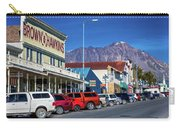 View Of Seward, Alaska Storefronts Carry-all Pouch