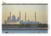 View Of Sheikh Zayed Grand Mosque Carry-all Pouch