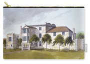 View Of Sir Noel De Carons House, 1809 Wc On Paper Carry-all Pouch