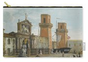 View Of The Arsenale. Venice Carry-all Pouch