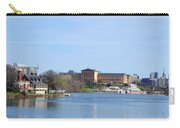 View Of The Art Museum And Waterworks In Philadelphia Carry-all Pouch