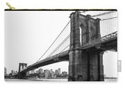 View Of The Brooklin Bridge Carry-all Pouch