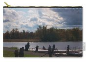 View Of The Creek From Catskill Point Carry-all Pouch