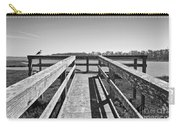 View Of The Elkhorn Slough From A Platform.  Carry-all Pouch