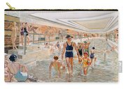 View Of The First Class Swimming Pool Carry-all Pouch