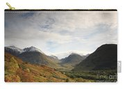 View Of The Glencoe Mountains Carry-all Pouch