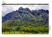View Of The Koolau Range Carry-all Pouch