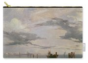 View Of The Lagoon Near Venice, 1826  Carry-all Pouch