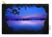 View Of The Night Lake Carry-all Pouch