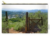 View Of The Ojai Valley Carry-all Pouch