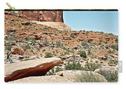View Of Three Gossips In Arches Np-ut  Carry-all Pouch