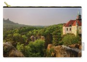 View Of Trosky Castle In A Village Carry-all Pouch