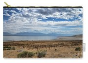 View Of Wasatch Range From Antelope Island Carry-all Pouch