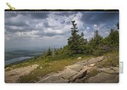 View On Top Of Cadilac Mountain In Acadia National Park Carry-all Pouch